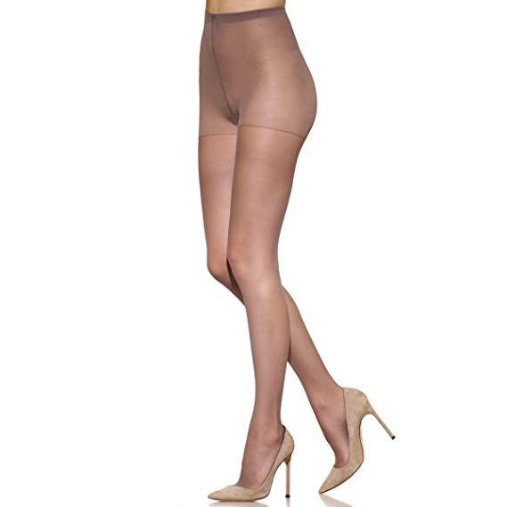 450ccc203ff4a Silkies Women's TLC Total Leg Control Pantyhose with Light Support Legs at Amazon  Women's Clothing store: