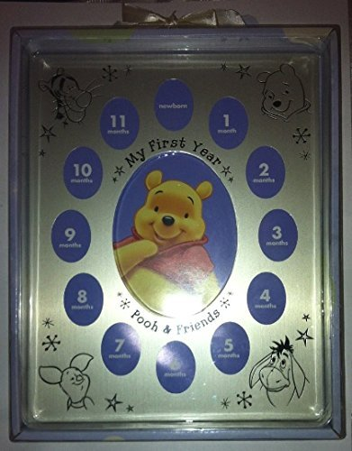 K-mart Disney Baby Winnie The Pooh & Friends My First Year Picture Photo Frame (Pics Of Winnie The Pooh And Piglet)