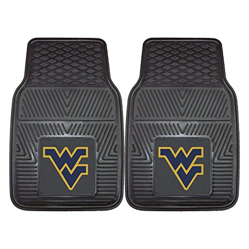 (FANMATS NCAA West Virginia University Mountaineers Vinyl Heavy Duty Car Mat)