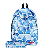 CIEOVO College School Backpack Oxford Rucksack Laptop Book Bag Satchel Hiking Bag School Bag for Teenage Girls