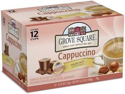 Coffee Pods: Grove Square Cappuccino