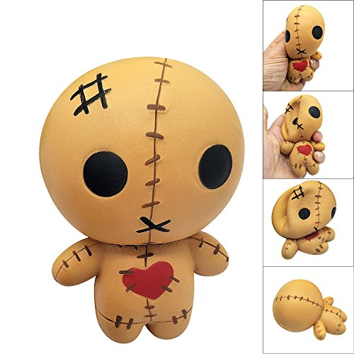 AckfulSqueeze Horror Doll Scented Squishy Charm Slow Rising 8cm Simulation Kid Toy
