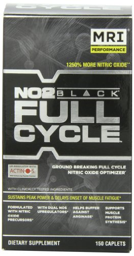 MRI NO2 Black, Full Cycle, 150 Tabletas (1.7g c/u)