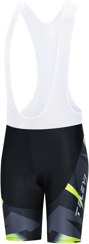 JPOJPO Set di pantaloncini da ciclismo da donna a maniche corte riflettenti e ciclismo