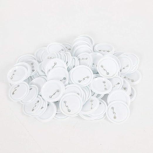 RANZIX 58 mm DIY Badge Press Machine 100pcs Button Parts Button ...