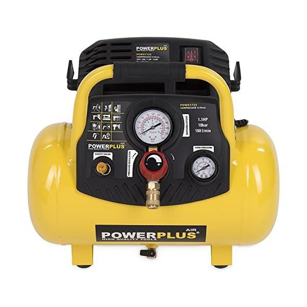 Compresor de 1100 W 12L – POWX1723