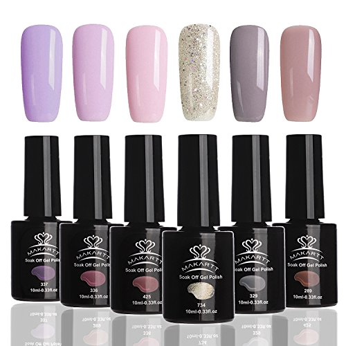 MAKARTT Perfect Summer Soak Off Gel Nail Polish, UV LED Gel