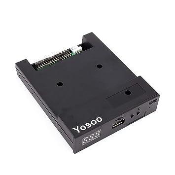 Generic SFR1M44-U100K - Emulador de disquetera USB, color negro