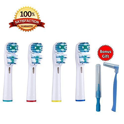 SMILEE-Oral B Dual Action Compatible Electric?Toothbrush Heads BEST VALUE Multipack by SMILEE