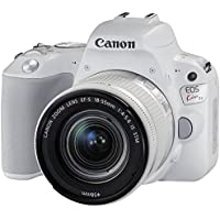 Canon EOS Kiss X9 EF-S18-55F4-56IS STM lens kit (white)(Japan Import-No Warranty)