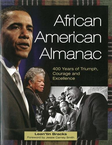 Search : African American Almanac: 400 Years of Triumph, Courage and Excellence