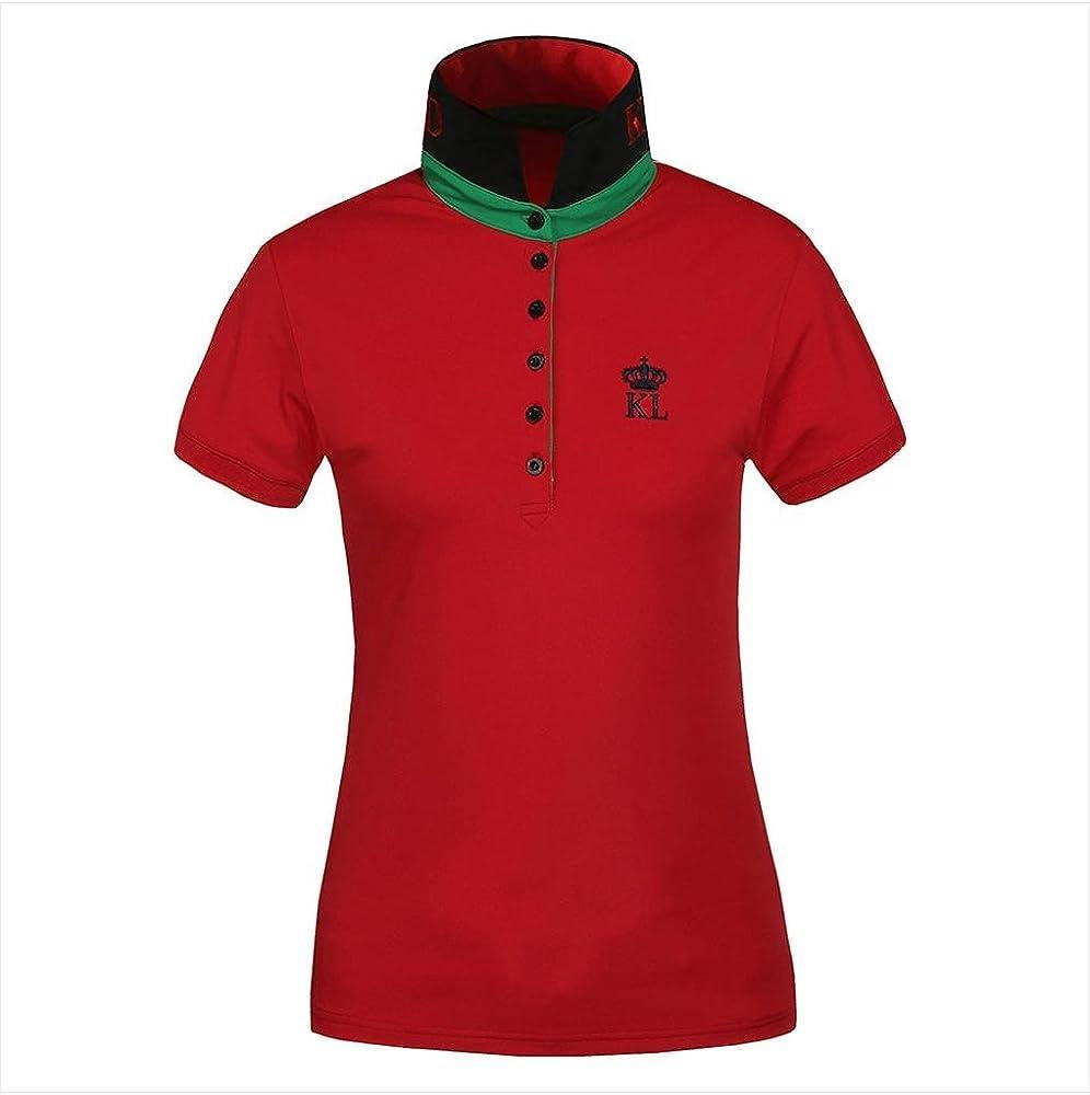 Kingsland Equestrian Luana – Polo para Hombre Multicolor Rosso ...