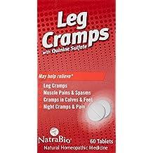 NatraBio Leg Cramps with Quinine Sulfate - 60 Tablets