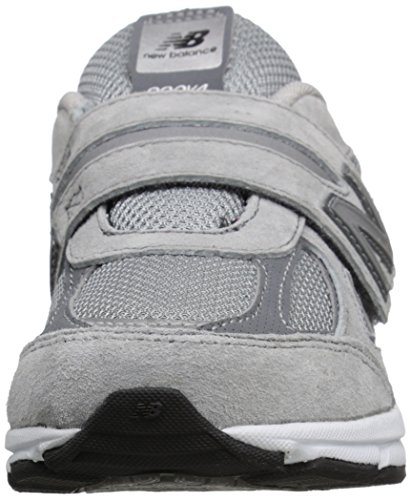 Grey Shoe Running New Pre Balance Boys' KJ990V4 Grey qXwqR0O