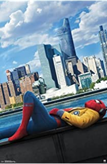 Spiderman Homecoming Us Movie Wall Poster Print 30cm X