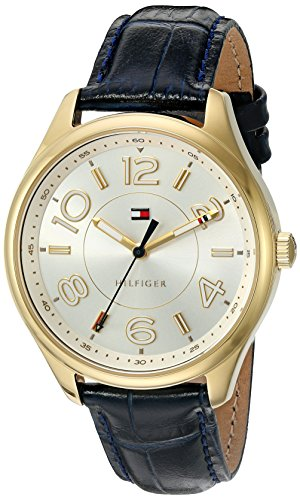 Tommy Hilfiger Women's Quartz Tone and Gold Plated Casual Watch(Model: 1781675)