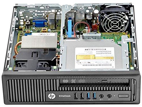 HP Elitedesk 800 G1 High Performance Business Desktop Computer, Intel Quad Core i5-4570S 2.9Ghz CPU, 8GB RAM, 500GB HDD, WIFI, RJ-45, USB 3.0, VGA, Windows 7 Professional (Certified Refurbished)