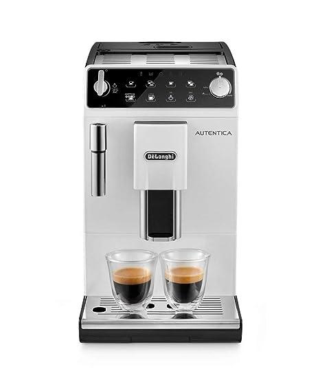 df747d08bb1 Delonghi ETAM 29.513 WB Autentica Bean to Cup Coffee Machine, White:  Amazon.co.uk: Kitchen & Home