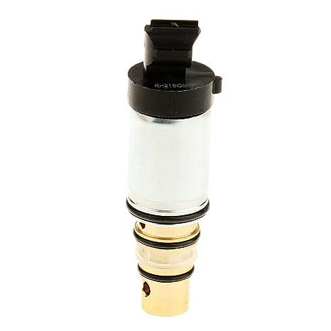 MagiDeal Válvula Solenoide de Control Compresor Acondicionador de Aire Coche