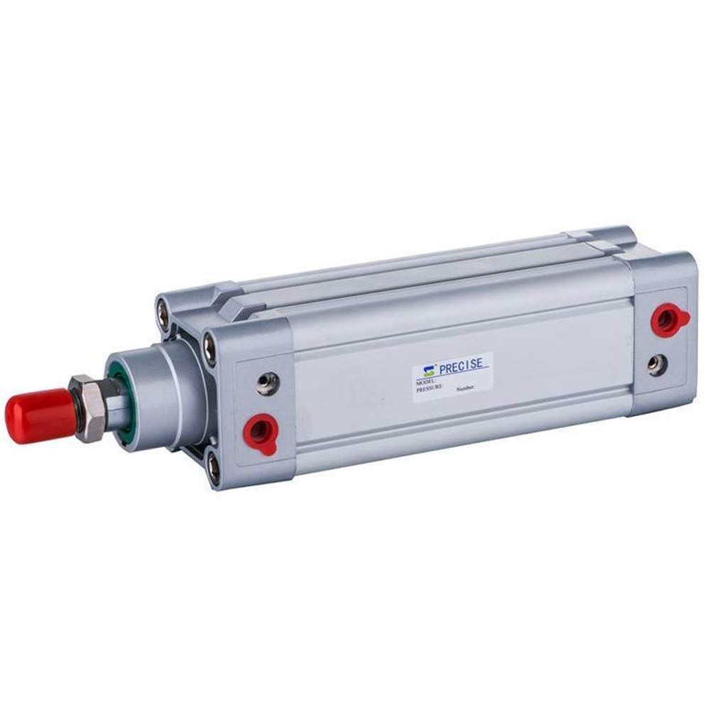 DNC100X200-S 100mm Bore x 200mm Stroke 1/2'' NPT ISO15552 Double Acting Air Cylinder