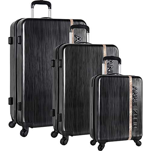 Anne Klein 3 Piece Hardside Spinner Luggage Set