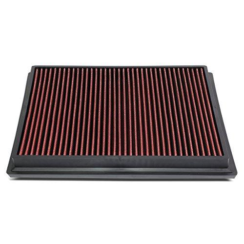 DNA Motoring AFPN-174-RD Red Panel Air Filter [For 15-18 Toyota Hilux Revo/Fortuner]