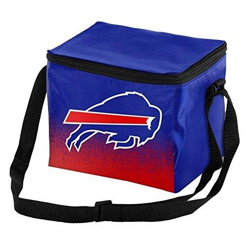 Forever Collectibles NFL Unisex Gradient Print Lunch Bag Coolergradient Print Lunch Bag Cooler, Buffalo Bills, Standard