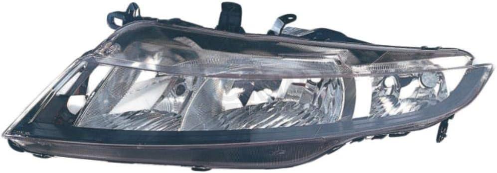 Hauptscheinwerfer TYC 20-0968-05-2 für CIVIC HONDA FK FN links H7//H1 8 Hatchback