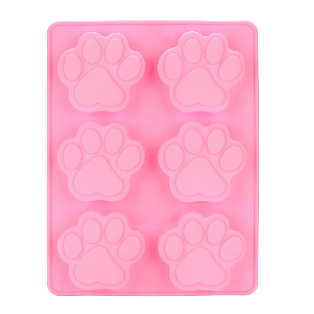 Kitchen,dining & Bar Cat Paw Print Silicone Cookie Cake Candy Chocolate Mold Soap Ice Cube Mold Decorating Mould Dining Kitchen Diy Food Accessories