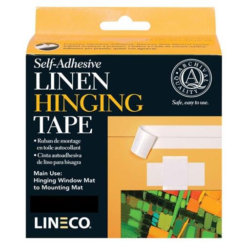 Self-Adhesive Hinging Tissue 1 Inch X 98 Ft LINECO LINL5330126