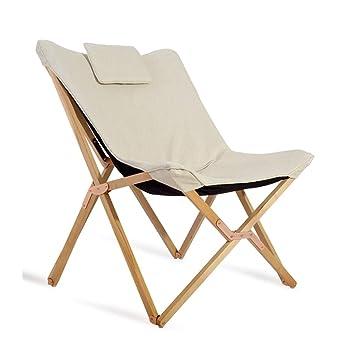 Mecedora Silla Plegable Lazy Deck Leisure Silla de salón de ...