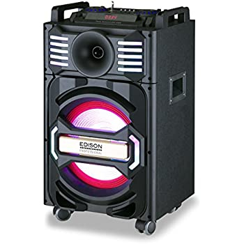 Edison Professional Party System 1000MKII Bluetooth Wireless Speaker