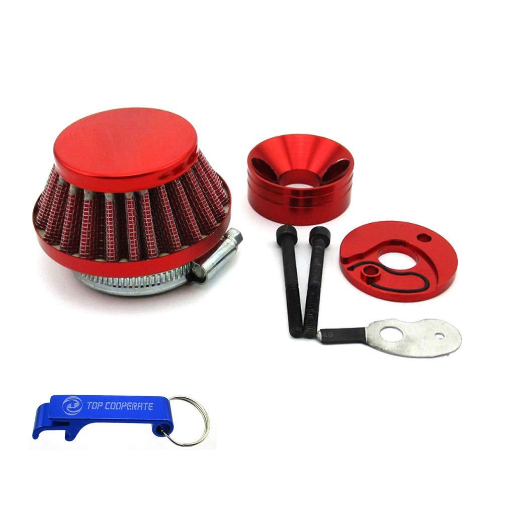 Amazon.com: Adaptador de filtro de aire de 1.732 in para ...