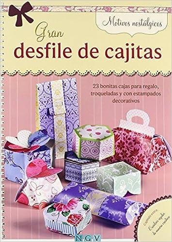MOTIVOS NOSTALGICOS (GRAN DESFILE DE CAJITAS) (Spanish) Paperback – 2013
