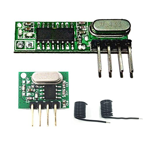 Superheterodyne Receiver Transmitter kit 433Mhz RF Wireless Module Antenna Arduino UNO DIY Kits