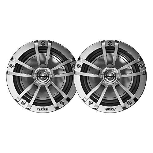 Infinity INF622MLT 622MLT Marine 6.5h RGB LED Coaxial Speakers - Titanium