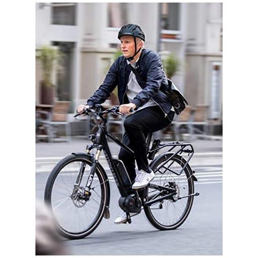 Casque De Vélo De Montagne Touch taillight, Vélo Casque De Vélo Planche À roulettes Scooter Hoverboard Casque Riding Sécurité Légère Réglable Respirant Casque Adjustable 55~59cm