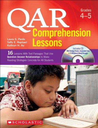 QAR Comprehension Lessons: Grades 4–5