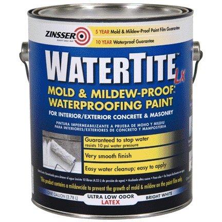 Concrete Paint Basement - RUST-OLEUM 5024 Watertite Latex Qt