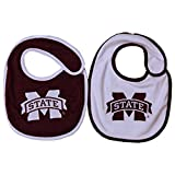 Mississippi State Bulldogs NCAA Baby Bibs 2 Pack