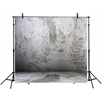 0ab317d509c4c2 Funnytree 10x10ft Wrinkle Free Soft Polyester Fabric Professional Photography  Backdrop Cement Concrete Wall Vintage Old Color Grunge Background Portrait  ...