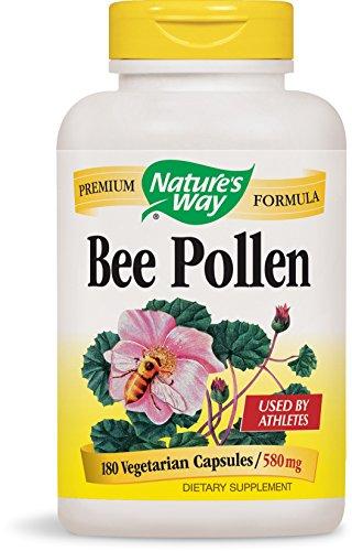 Nature's Way Bee Pollen Blend 580 mg Caps, 180 ct