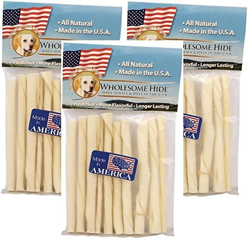 Wholesome Hide Twists 5-10 Pack Pack of 3