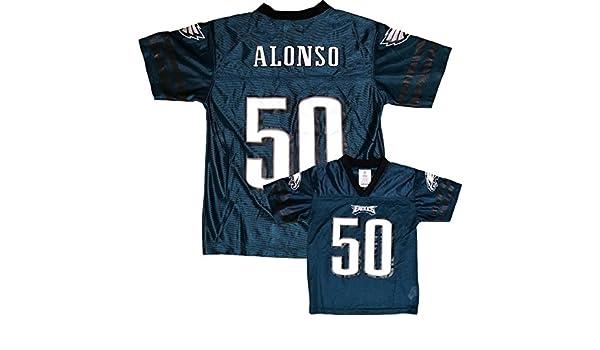 8fe3d81fc ... ireland amazon kiko alonso philadelphia eagles green home player jersey  youth clothing af016 5b062