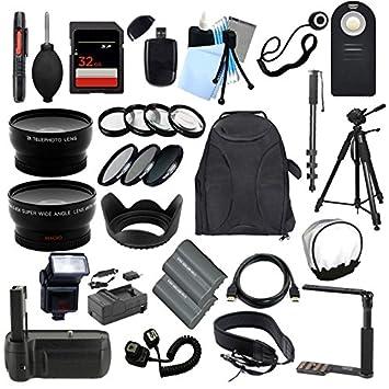 TODO lo que necesitas Kit de accesorios para la Nikon D90 ...