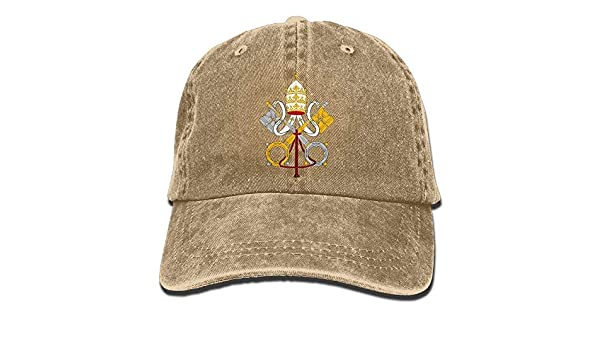 Adjustable Baseball Caps Vatican City National Emblem Cowboy Style ...