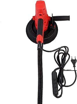 Lijadora Eléctrica, 800W Pulir Maquina de Lijar Paredes Velocidades Ajustables Construido en Aspiradora Lijadora Electrica de Mano con Luz LED 230V + 5x Papeles de Lija + Manguera + Llave: Amazon.es: Bricolaje