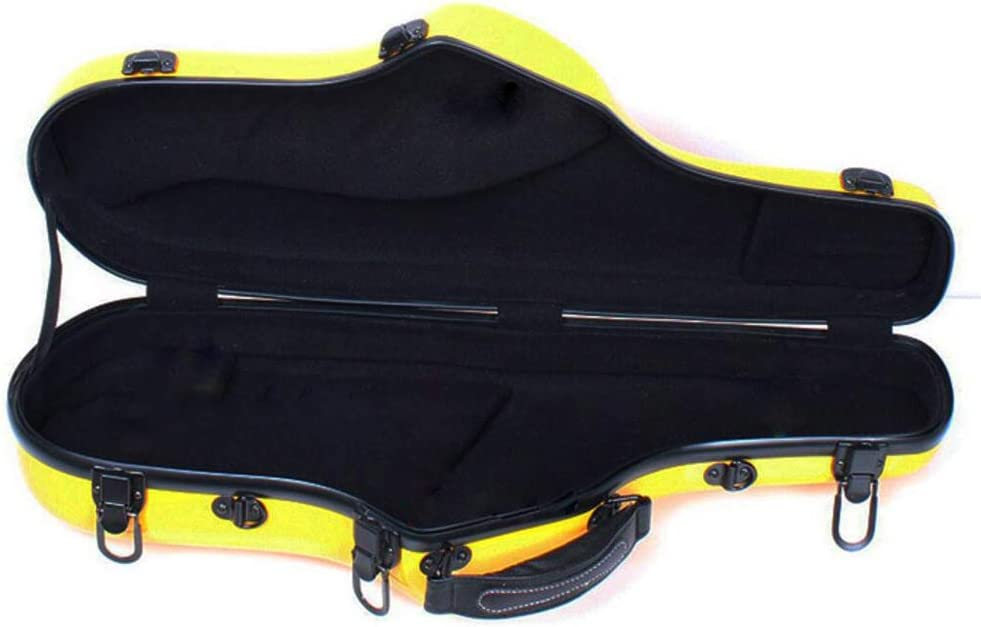 AYYNAM FRP Alto Saxophone Hard Case Wind Instrument Accessories with Backpack Straps