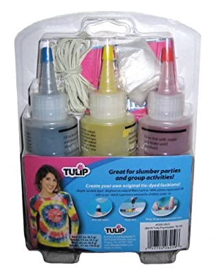 Tulip 3-Color Tie Dye Psychedelic Kit Fabric Paints