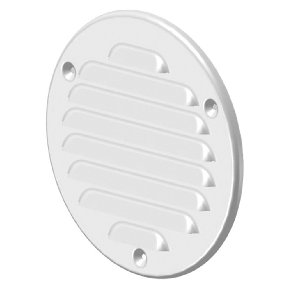 Metal White ø 100mm Round Insect Net Vent Grille Cover, Exhaust Air Vent MTA 14 MKK-SHOP